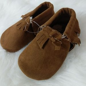Other - 3 infant moccasin shoes Brown